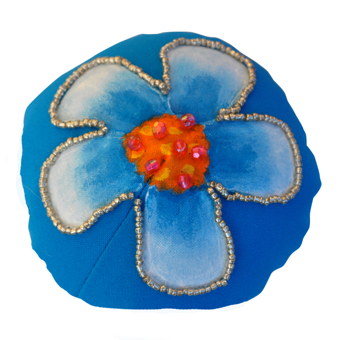 Painted Flower Badge™