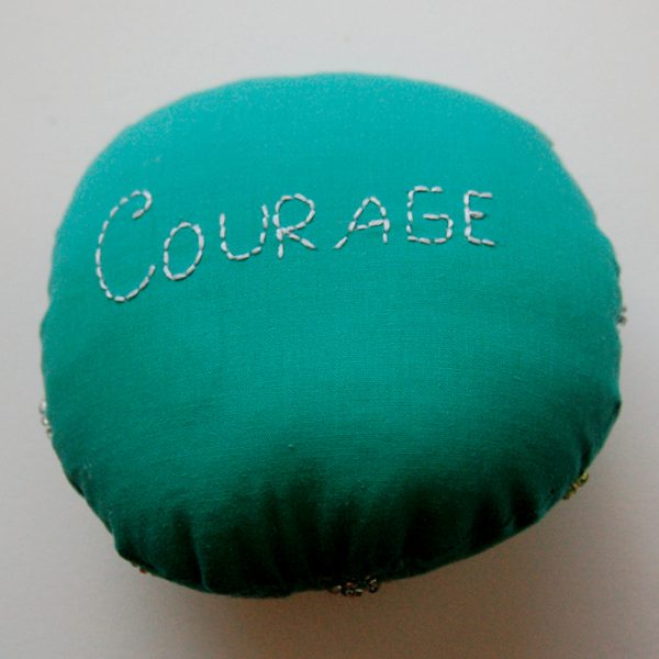 Burst of Energy Badge of Courage- Back