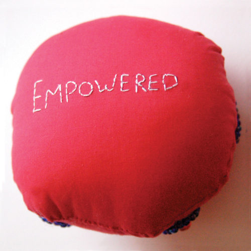 Helen Sahinen Badge of Courage- Empowered